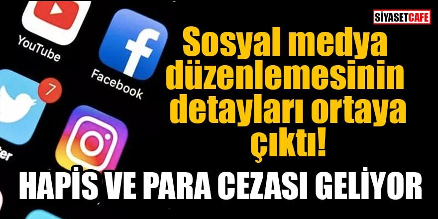 Sosyal medya düzenlemesinin detayları ortaya çıktı! Hapis ve para cezası geliyor