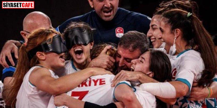 Golbol Kadın Milli Takımı olimpiyat şampiyonu