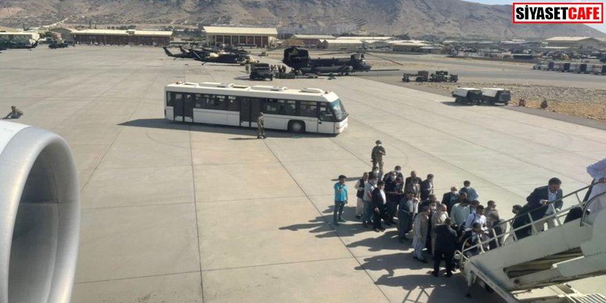 Taliban kontrolünde ilk iç hat uçuş seferi gerçekleşti