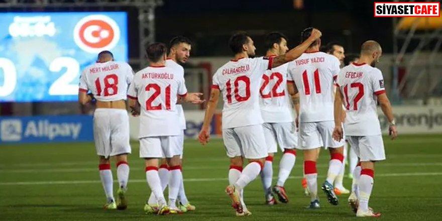 Maç sona erdi: Cebelitarık 0-3 Türkiye