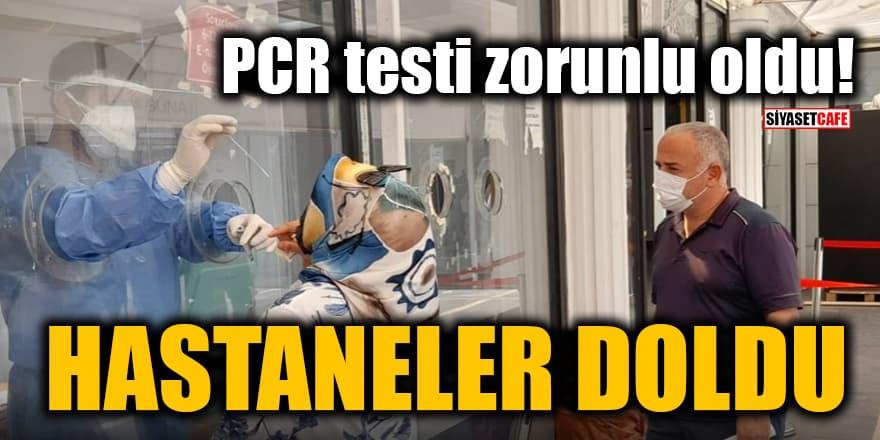 PCR testi zorunlu oldu! Aşısızlar hastaneleri doldurdu