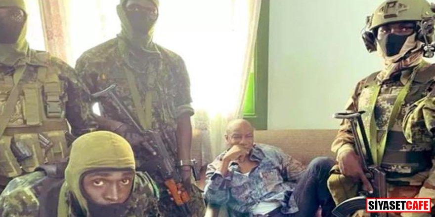 Gine'de darbe: Cumhurbaşkanı alıkonuldu