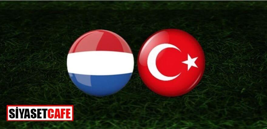 Hollanda-Türkiye maçı kaç kaç bitti?