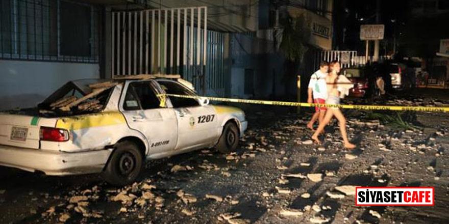 Meksika'da sel felaketi sonrası 7 büyüklüğünde deprem!