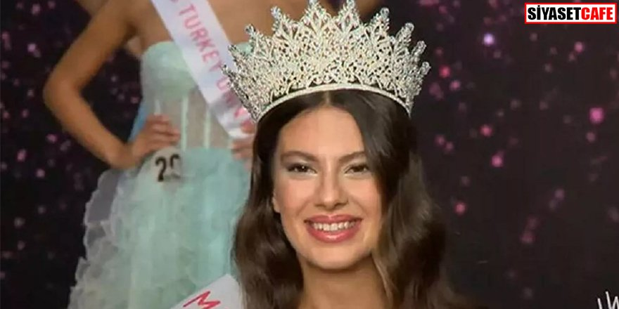 Miss Turkey 2021 birincisi belli oldu: İşte Türkiye'nin en güzel kızı
