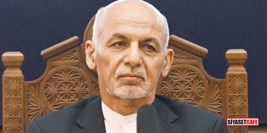 Afganistan'ı terk eden Başkan Eşref Gani özür diledi