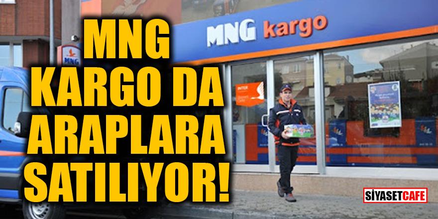 MNG kargo da araplara satılıyor!