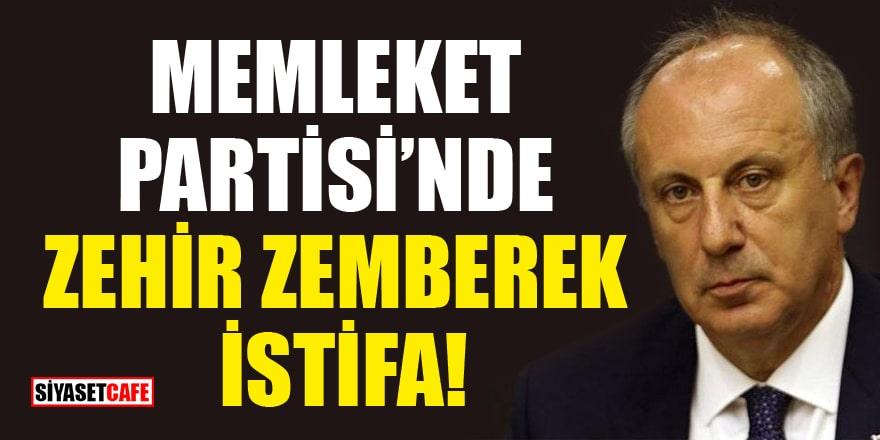 Memleket Partisi kurucularından Mustafa Tayfun Laik istifa etti!