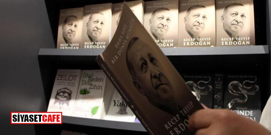 Aşı olana Erdoğan'ın kitabı hediye
