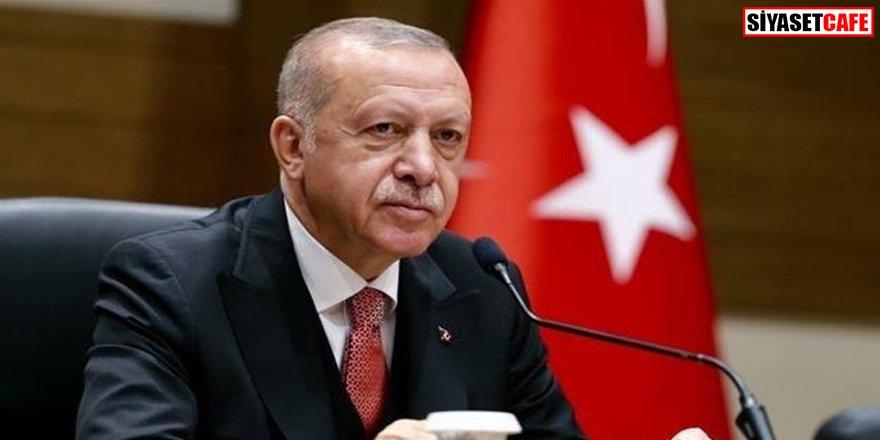 Cumhurbaşkanı Erdoğan'dan şehit ailelerine taziye mesajı
