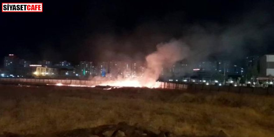 Diyarbakır'da havai fişek patlaması: Yangın çıktı
