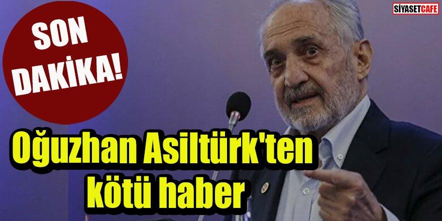 Son dakika: Oğuzhan Asiltürk'ten kötü haber