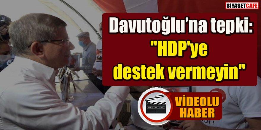 Ahmet Davutoğlu evlat nöbeti tutan ailelerle tartıştı
