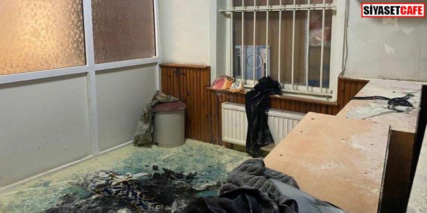 İstanbul'da cami yakmaya çalıştılar