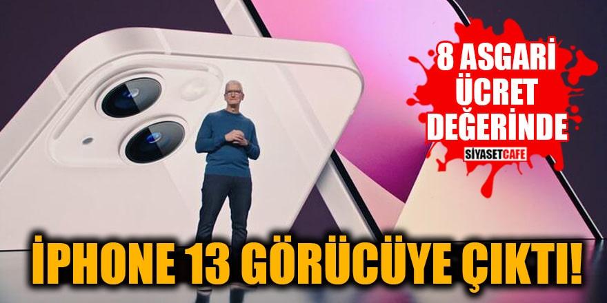 iPhone 13 görücüye çıktı! İşte Türkiye fiyatı