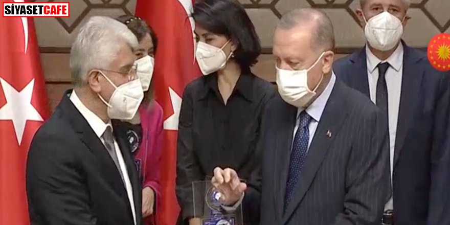 'TÜRKGÜN' yılın gazetesi seçildi, ödülü Erdoğan verdi