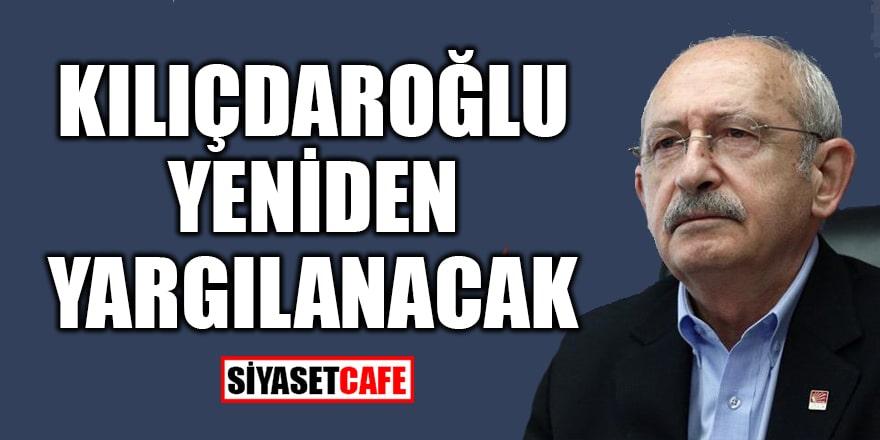 Kemal Kılıçdaroğlu, Erdoğan Bayraktar'a hakaret davasında yeniden yargılanıyor