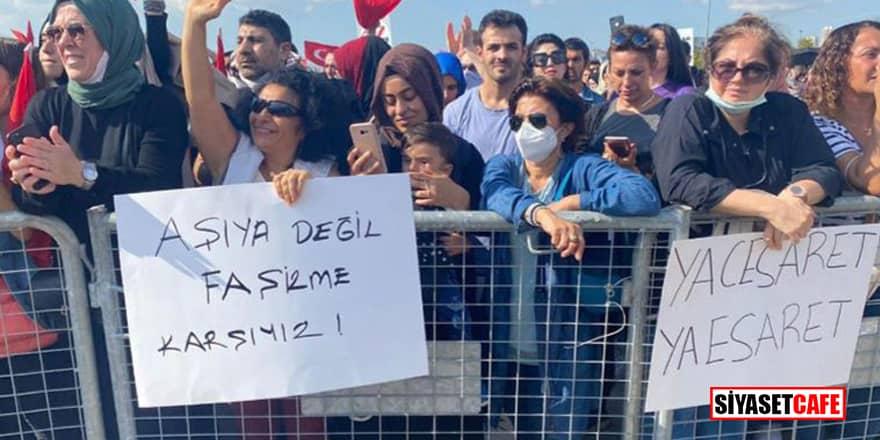 Aşı karşıtları Ankara'da miting düzenleyecek!