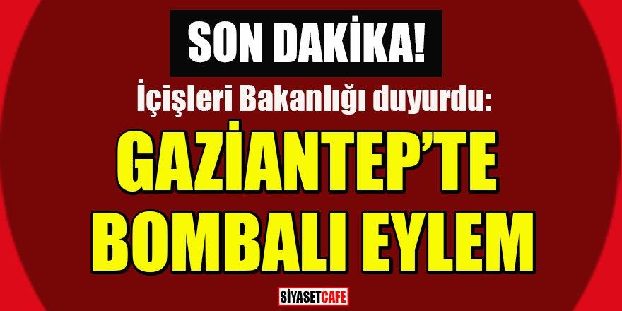 Son dakika: Gaziantep'te bombalı eylem engellendi