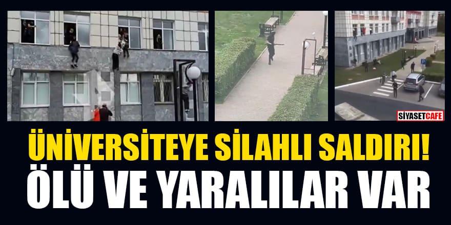 Rusya Perm Devlet Üniversitesi'nde silahlı saldırı! Ölü ve yaralılar var