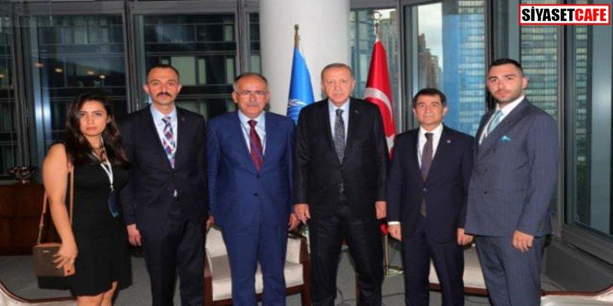Erdoğan MHP Genel Başkan yardımcılarını ile görüştü