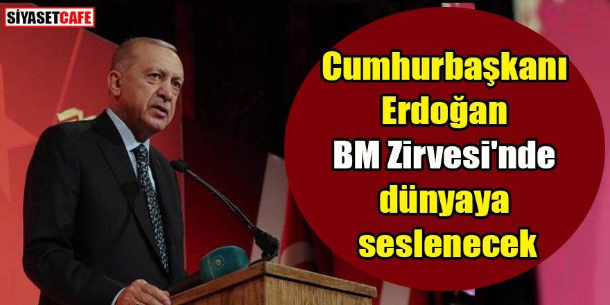 Cumhurbaşkanı Erdoğan dünyaya seslenecek