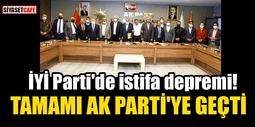 İYİ Parti Horasan teşkilatında istifa! Tamamı AK Parti'ye katıldı