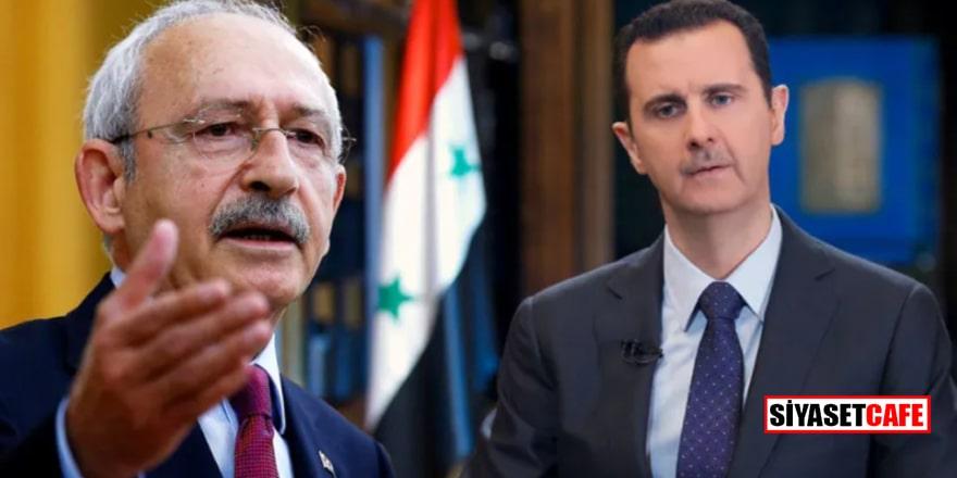 Esad, Kılıçdaroğlu'na haber yolladı: Gelin konuşalım