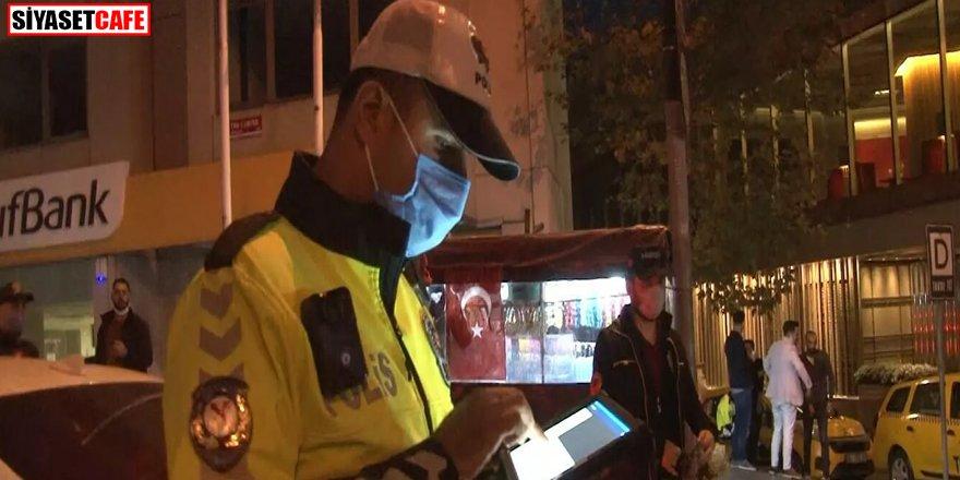 İstanbul'da helikopter destekli uygulama