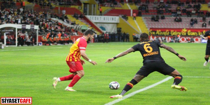 Galatasaray'a Kayseri'de büyük şok