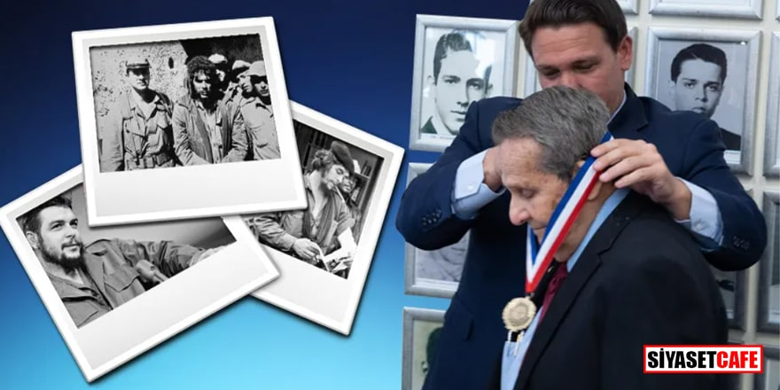 Che Guevara'nın katili CIA ajanına özgürlük madalyası takıldı