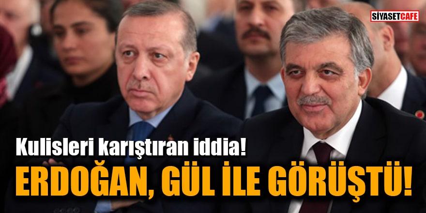 CHP'li vekilden kulisleri karıştıran iddia: Cumhurbaşkanı Erdoğan, Abdullah Gül ile görüştü
