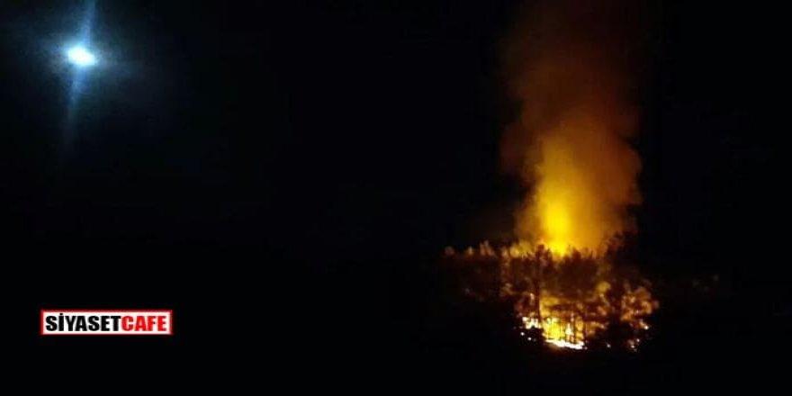 Son dakika: Fethiye'de orman yangını