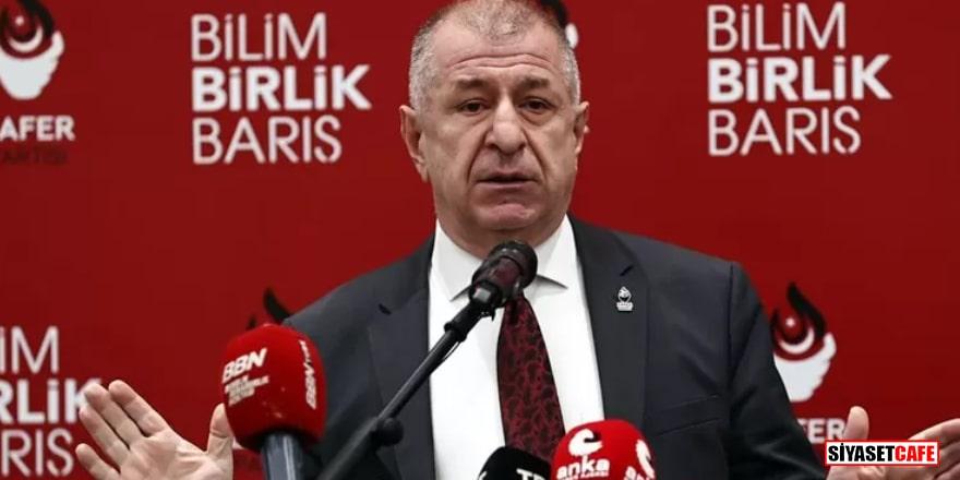 Zafer Partisi Lideri Özdağ, Milli Eğitim Bakanını protesto etti