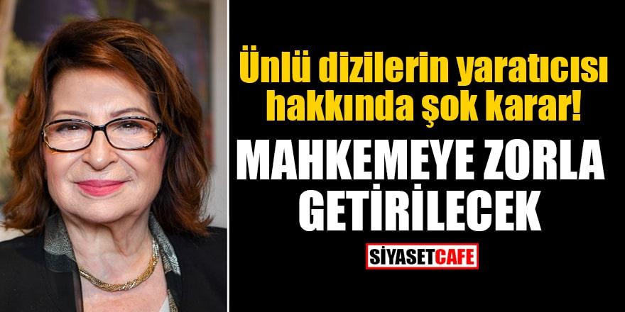 Ünlü dizilerin yaratıcısı Gülseren Budayıcıoğlu hakkında şok karar: Mahkemeye zorla getirilecek