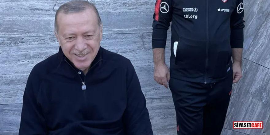 Cumhurbaşkanı Erdoğan'ın spor kombini büyük beğeni topladı