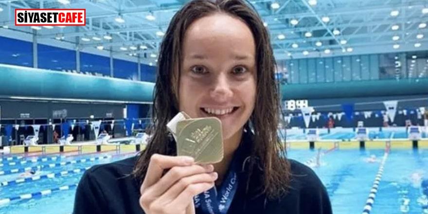 Milli yüzücüden tarihi başarı: Dünya Kupası'nda altın madalya kazandı
