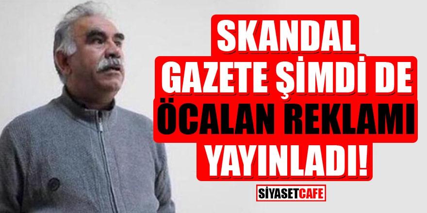 İslam düşmanı Jyllands-Posten gazetesi Öcalan'ın reklamını yayınladı