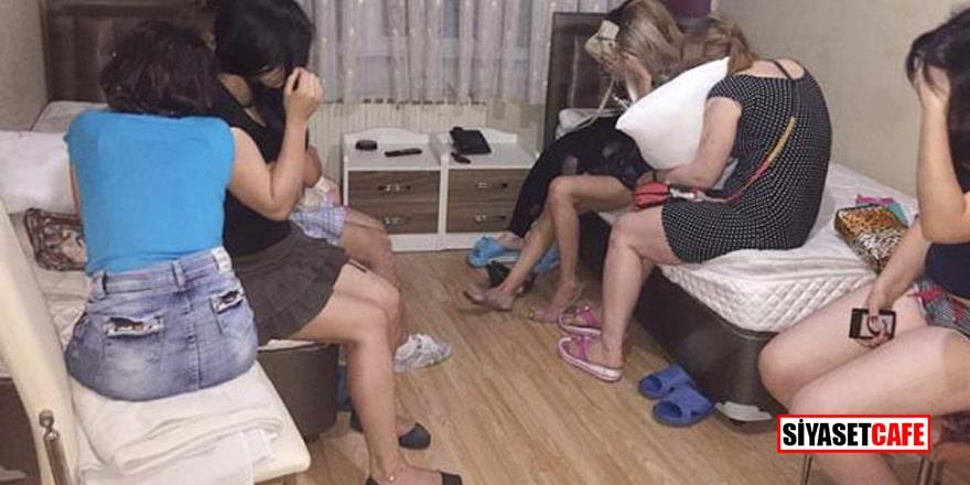 Trabzon'da büyük fuhuş operasyonu: 155 kadına ceza kesildi