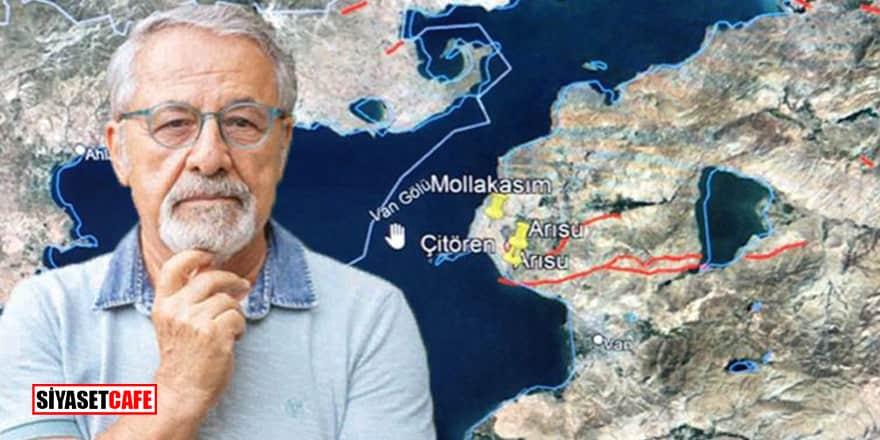 Deprem uzmanı Prof. Dr. Naci Görür'den Van Gölü çevresi için korkutan uyarı!