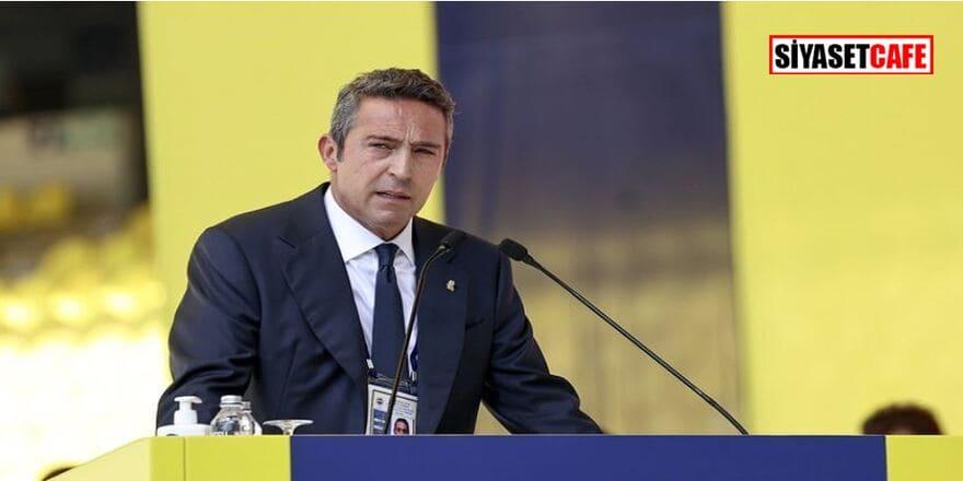 FB Başkanı Ali Koç'tan çok sert çıkış: Bu düzeni yıkmak için elimizden geleni yapacağız!