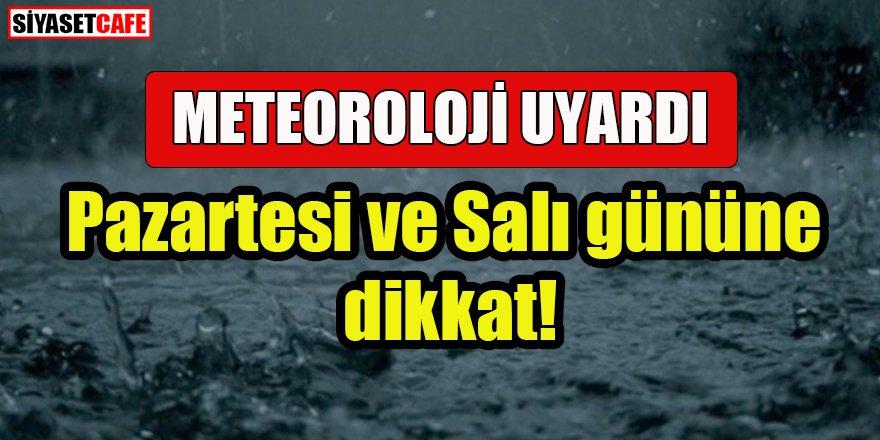 Meteoroloji'den İstanbul dahil 47 ile kritik uyarı!