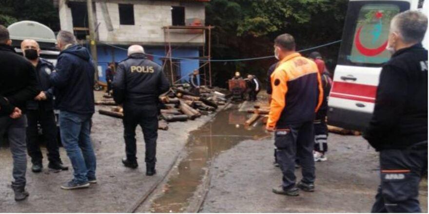 Zonguldak'taki maden ocağında işçilergöçük altında kaldı