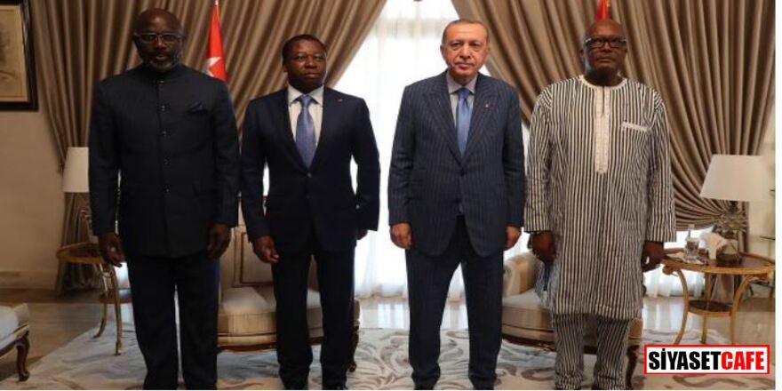 Erdoğan'ın katıldığı Afrika'daki zirveden ortak bildiri