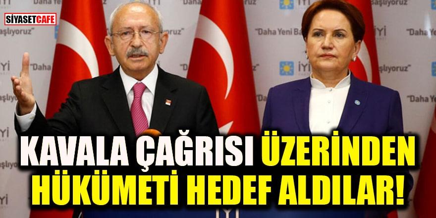 Akşener ve Kılıçdaroğlu 10 büyükelçinin Kavala çağrısı üzerinden hükümeti hedef aldı!