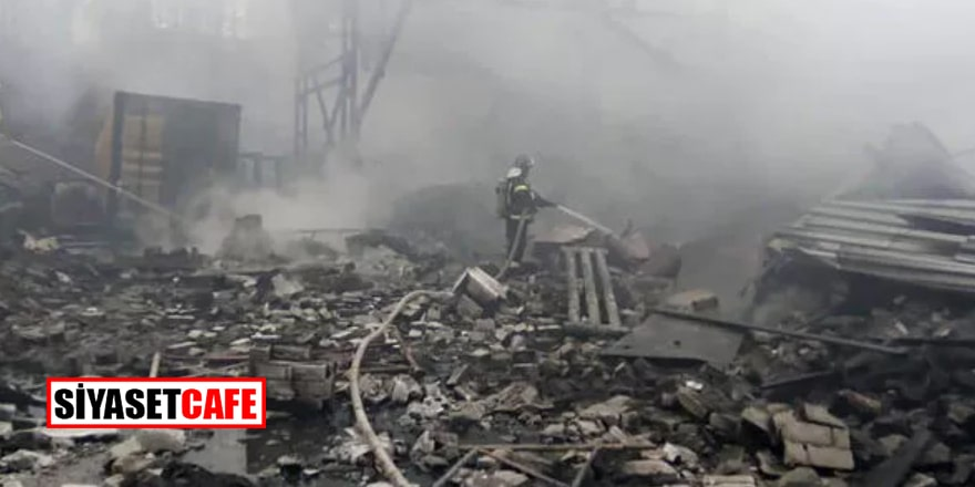 Rusya'da barut atölyesinde patlama: 16 kişi yaşamını yitirdi