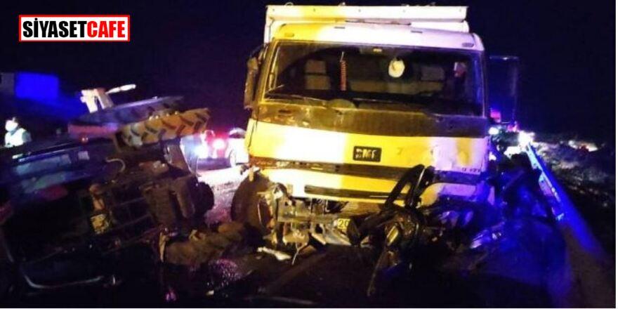 Burdur'da katliam gibi kaza: 5 ölü