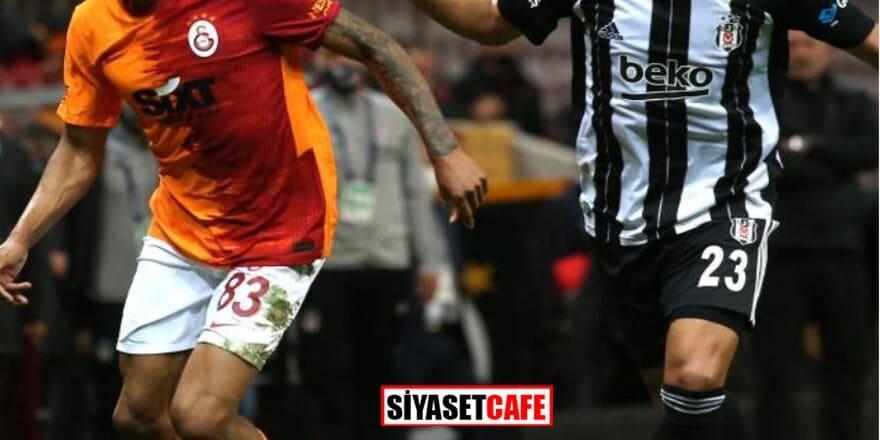 Süper Lig'de derbi heyecanı: Beşiktaş-Galatasaray