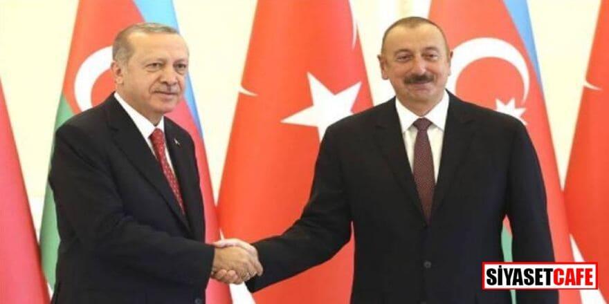 Erdoğan ve Aliyev'den ortak basın toplantısı