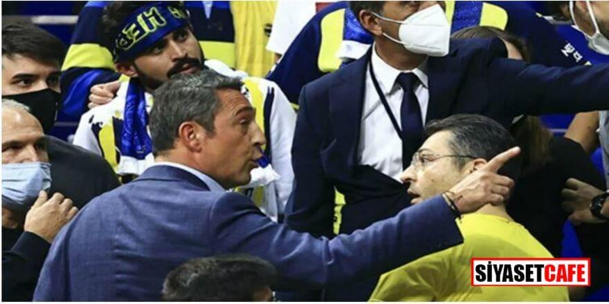 Fenerbahçe taraftarları ile Ali Koç arasında gerginlik!